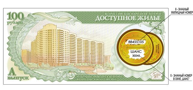 лотерея доступное жилье
