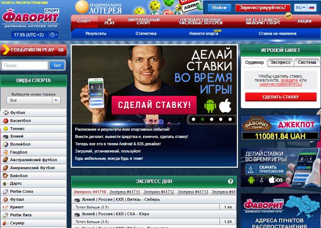 Самый россия спорт на популярный ставки