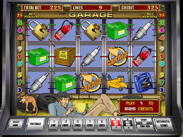 в гаражи бесплатно играть автоматы игровые