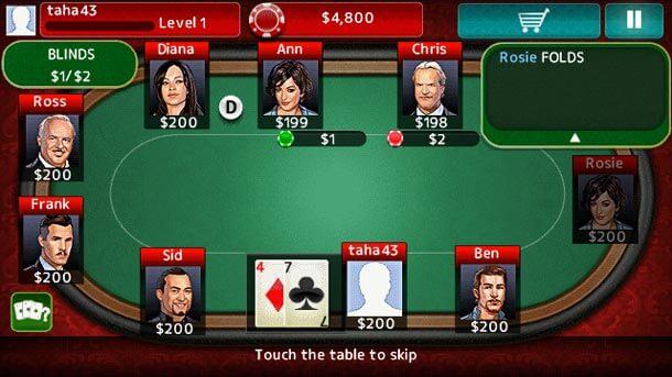 покер на симбиан 3 работников